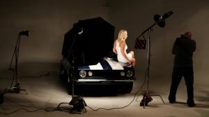 Brooke Hogan photo shoot at Kingswood Productions.