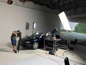 Nashville Cinematics studio shoot at Kingswood Productions.