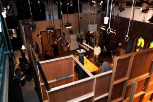 Webseries video set filmed in Kingswood Productions.
