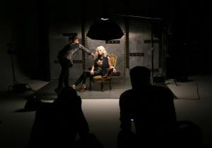 Shawn Warlow photo shoot at Kingswood Productions.